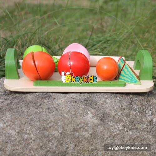 baby wooden fruit cut toy W10B177