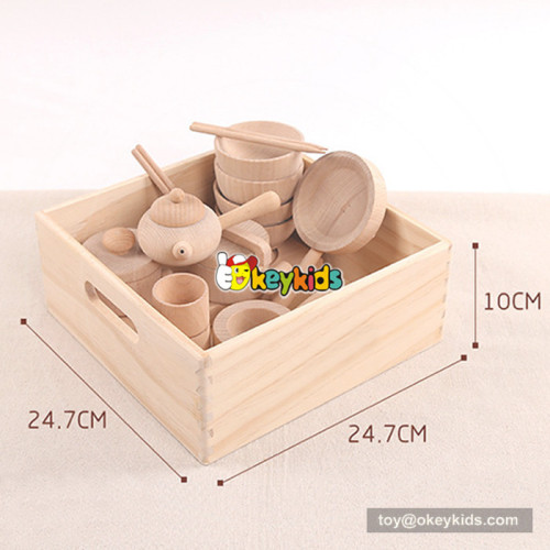 funny kid wooden role play toys W10B178