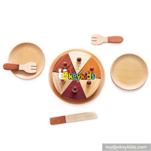natural wooden birthday cake toy set W10B180