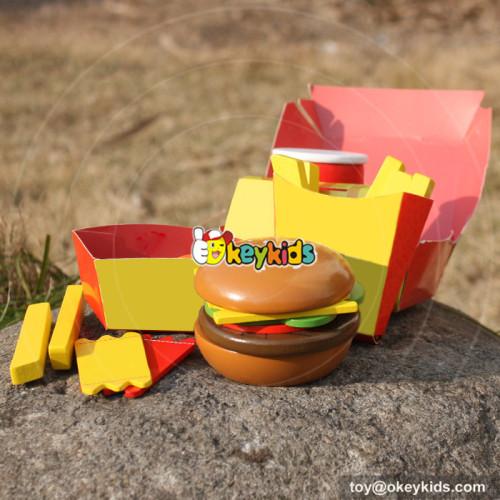 top sale wood children play food W10B186