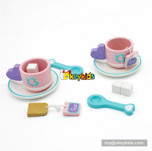 wooden tea set toy for children W10B197