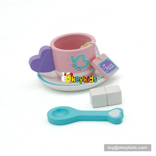 wooden tea set toy for children W10B197