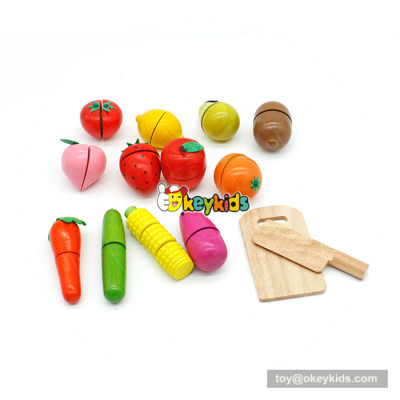 wooden cutting toy for baby's Hand-eye coordination W10B203
