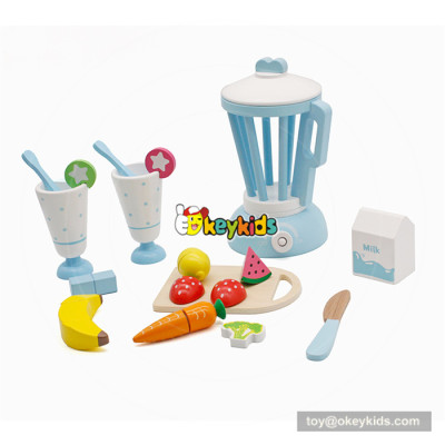 Delicate children wooden juicer set toy contains of cutting food toy W10B204