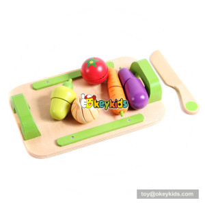 Educational wooden children toy fruit for pretend play W10B216