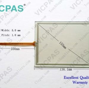Touch screen panel membrane for siemens 6av6545-0CA10-2AX0 TP270 6''