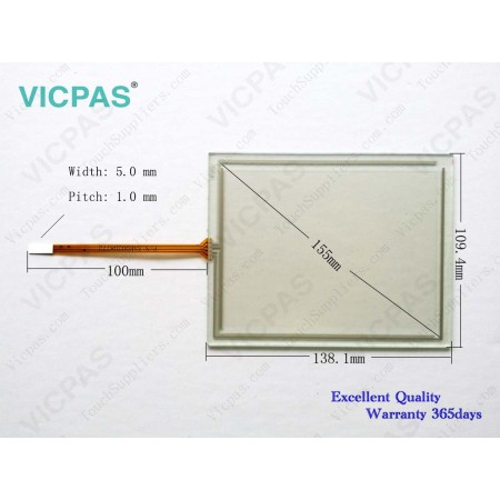 Touch screen panel membrane for 6AV6642-0AA11-0AX0 TP177A 6