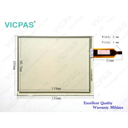 for Siemens ALPS 16 touch screen panel replacement