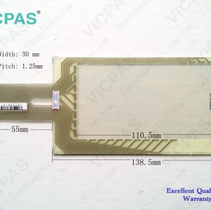 Touch screen panel for 6AV3607-1NH00-0AX0 TP7 touch panel membrane touch sensor glass replacement repair