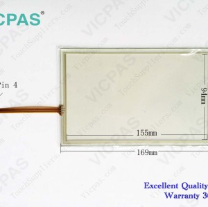 Touch screen panel for 6AG1124-0GC01-4AX0 HMI TP700 COMFORT touch panel membrane touch sensor glass replacement repair