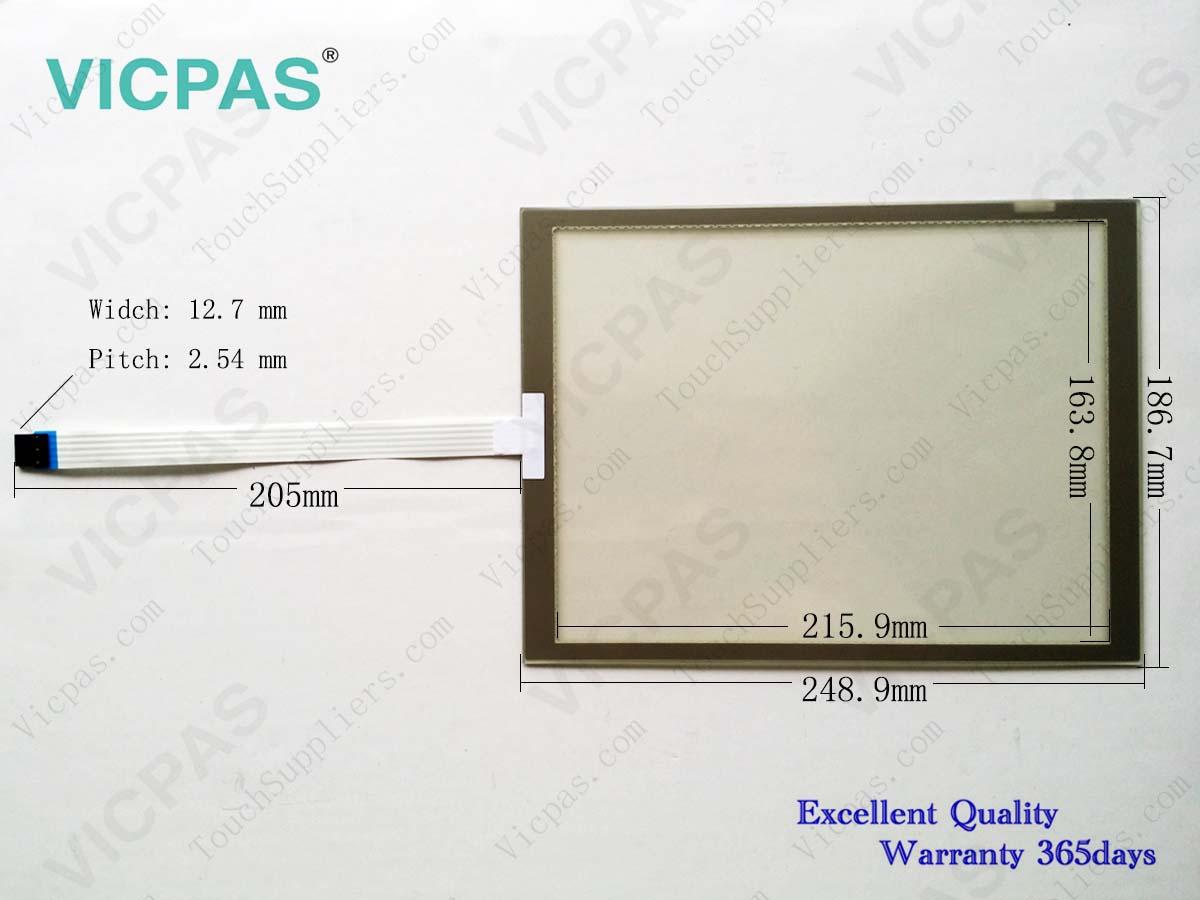 """Touch Screen Panel Glass Digitizer for 6AV3627-6QL00-1BC0 TP27 10/"""""""