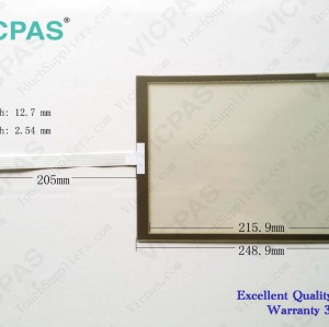 Touch screen panel for 6AV3627-1QL01-0AX0 TP27-10 touch panel membrane touch sensor glass replacement repair