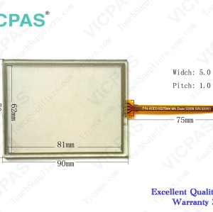 Touch screen panel for 6AV2 124-2DC01-0AX0 KTP400 touch panel membrane touch sensor glass replacement repair
