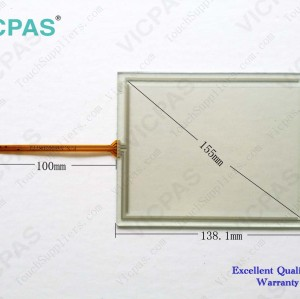 6AG1647-0AD11-2AX0 Touch screen glass panel