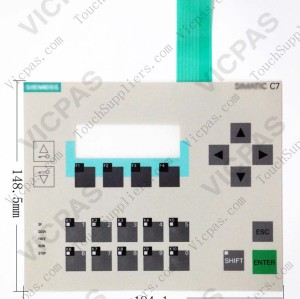 Membrane keyboard for 6ES7613-1CA02-0AE3 C7-613 membrane keypad switch