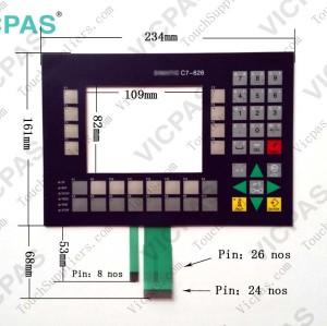 Membrane keypad keyboard for 6ES7626-2AG00-0AE3