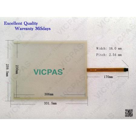 6AV7861-2AA00-1AA0 Touch panel screen glass repair