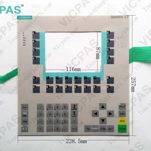 Membrane keyboard for 6EA7 636-2EB00-0AE3 membrane keypad switch