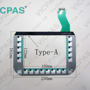 6AV6645-0CA01-0AX0 Membrane keyboard keypad