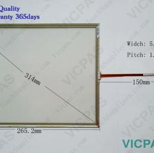 6AG1545-0DA10-4AX0 Touch panel screen glass