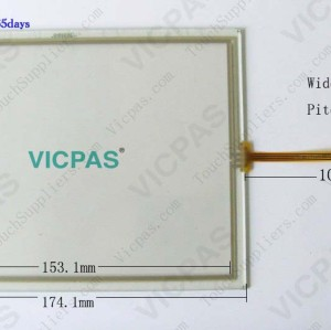 6AV6643-0CB01-1AX0 HMI Touch screen panel glass