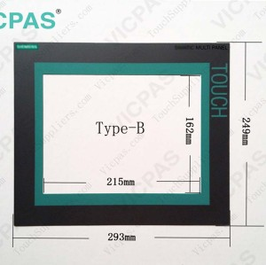 6AG1643-0CD01-4AX0 Touch screen panel glass