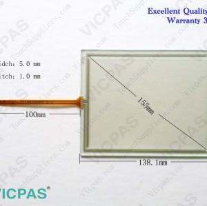 6AV6642-0EA01-3AX0 Touch glass screen panel