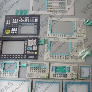 6AV6644-0BA01-2AX0 Membrane keypad keyboard