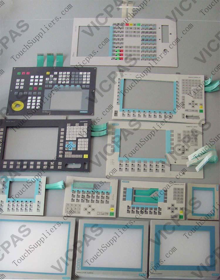 for Siemens SIMATIC MP377-12 6AV6644-0BA01-2AX1 Screen Glass Membrane Keypad
