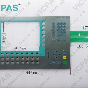 6AV6643-7DD00-0CJ0 Membrane keypad keyboard