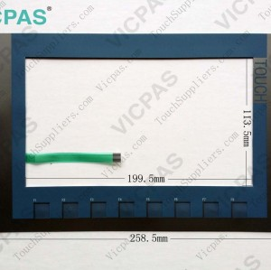 Membrane keyboard for 6AV2 124-1JC01-0AX0 HMI KP900 membrane keypad switch