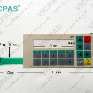 Membrane keyboard keypad for 6AV3503-1DB10