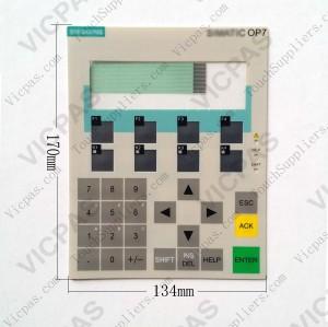 Membrane keyboard keypad for 6AV3607-5BB00-0AG0