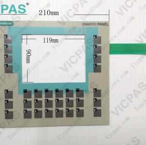 6AV6642-0DA01-1AX1 Membrane keypad keyboard