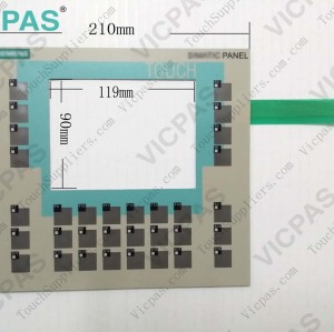 6AV6551-2HA01-1AA0 Membrane keypad keyboard