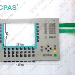 6AV6542-0CC10-0AX0 Membrane keyboard keypad