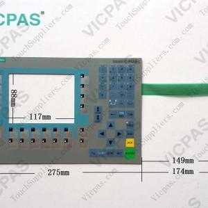 6AG1643-0BA01-4AX1 Membrane keyboard keypad