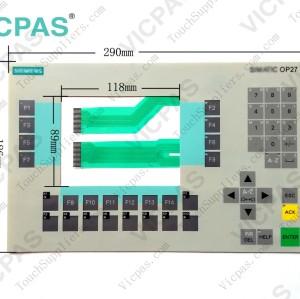 6AV3627-1JK00-0AX0 Membrane keyboard keypad