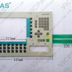 6AV3637-1LL00-0CX0 Membrane keyboard keypad