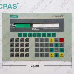 6AV3515-1EB30-1AA0 Membrane keyboard keypad