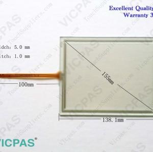 6AV6642-0DC01-1AX1 Touch panel screen glass