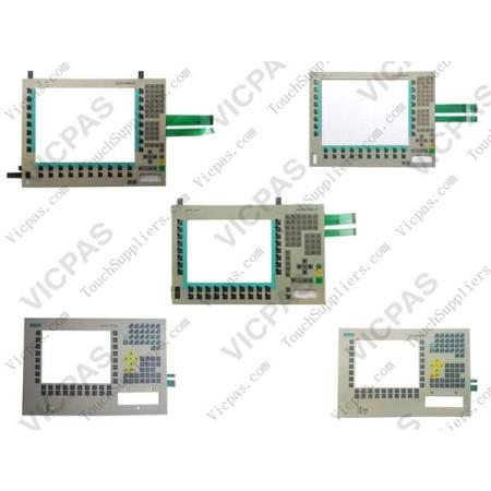 Membrane keyboard for Siemens 6AV7861-1KB10-1AA0 Simatic FLAT PANEL 12 membrane keypad switch
