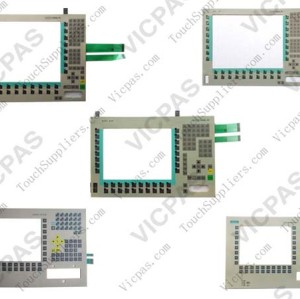 Membrane keyboard for 6AV7885-1....-.... HMI IPC 577C 12 membrane keypad switch