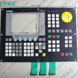Membrane keyboard keypad for 6FC5203-0AD11-0AA0
