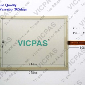 6FC5203-0AF06-1AA0 Touch glass panel screen repairing