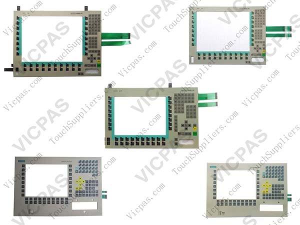 Membrane keyboard for Siemens 6ES7 676-4BA00-0DH0