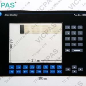 Membrane keyboard for 2711-K10G8 membrane keypad switch