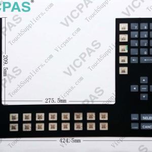2711-K14C1 Membrane keyboard 2711-K14C14 membrane keypad switch