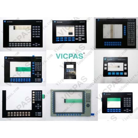 Tela do painel de toque e teclado de teclado de membrana para 6180P-12BPXP
