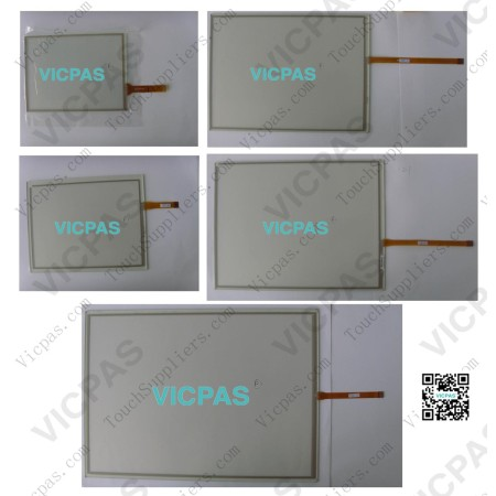 Touch panel screen for PS3711A-T42-1G-XM60 touch panel membrane touch sensor glass replacement repair